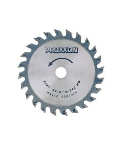 Carbide Tipped Saw Blade 24-Teeth PROXXON 28734