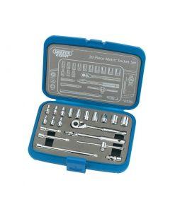 "Expert 1/4"" Sq. Drive Metric Socket Set"