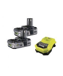 Ryobi RBC18L13 Battery + Charger ONE+ Starter Kit